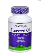 Natrol Flaxseed Oil -- 1000 mg - 90 Softgels