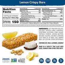 SimplyProtein Crispy Bars - Lemon