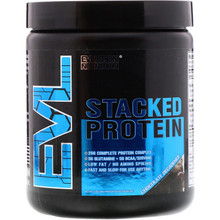 EVLution Nutrition, Stacked Protein Chocolate Decadence,185 g