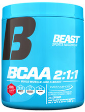 Beast Sports Nutrition – BCAA 2:1:1, Beast Punch, 30 Servings