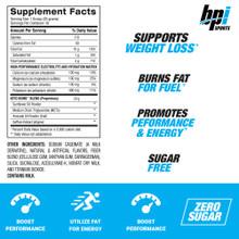 BPI Sports Keto Bomb, French Vanilla Latte - 18 Servings – 468 gm