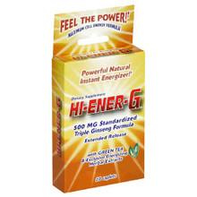 Windmill Health Products Hi-Ener-G, 500 mg, 20 Caplets