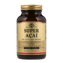 Solgar, Super Acai, Brazilian Berry, 50 Softgels