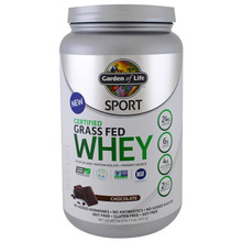 Garden of Life, Grass Fed Whey, Chocolate, 23.7 Oz