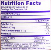 Now Foods Spirulina 500Mg - 200 Tablets