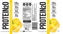 Protein20 RTD, 500ml Water, Classic Lemonade