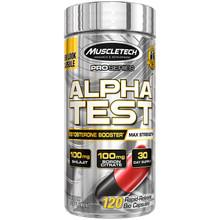 MuscleTech AlphaTest, 120 Bio Capsules