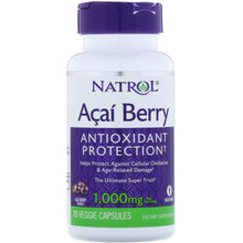 Natrol Acai Berry 1000Mg, 75 Veggie Capsules