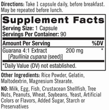 Natrol Guarana 200mg, 90 Capsules