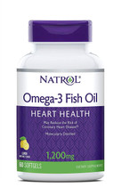 Natrol Omega-3 1200 Mg, 60 Tablets