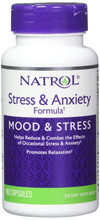 Natrol Stress & Anxiety Formula, 90 Capsules