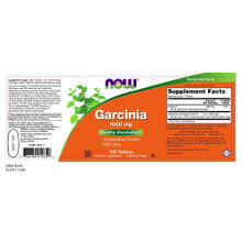Now Supplements, Garcinia, 1000 mg, 120 Tablets