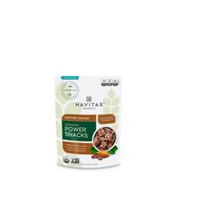 Navitas Organics, Organic Power Snacks, Coffee Cacao.