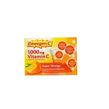 Emergen-C, 1,000 mg Vitamin C, Super Orange, 30 Packets, 0.32 oz
