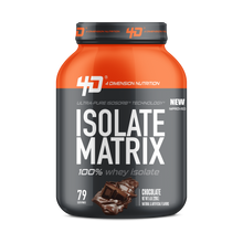 Whey Isolate Matrix 5Lbs Chocolate - 4D Nutrition
