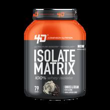 Isolate Matrix 5Lbs Cookies & Cream - 4D Nutrition