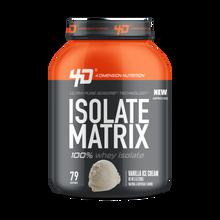Isolate Matrix 5Lbs Vanilla Ice Cream -  4D Nutrition