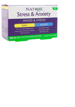 Natrol Stress & Anxiety Day Night Two 30 Tab Blister