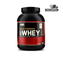 Optimum Nutrition 100% Whey Gold STD 5LB Double Rich Chocolate