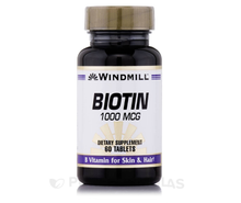 Windmill Biotin 1000 Mcg 60 tablet.