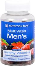 1+1 Offer Nutrition Now Multivites Men's Gummy Vitamins 70 Gummies