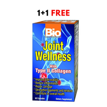 Offer Bio Nutrition Joint Wellness With Type 2 Collagen 60 Capsules