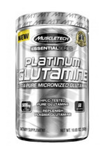 Muscletech Platinum 100% Glutamine - 60 Servings