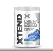 Scivation Xtend BCAA - Blue Raspberry Ice, 30 Servings