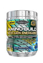 Muscletech Amino Build Next Gen - Blue Raspberry, 30 Servings