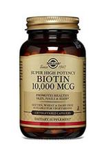 Solgar Biotin 10,000 MCG - 120 Capsules