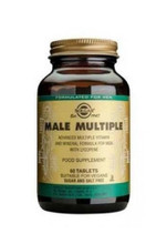 Solgar Male Multiple Non Flavoured Multi Vitamins 60 Tabs