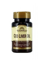 Windmill Cod Liver Oil - 100 Softgels