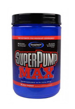 Gaspari Nutrition Superpump Max Pre-Workout Powder - Black Cherry, 640g