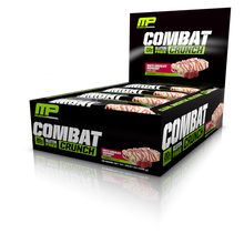 MusclePharm Combat Crunch Bar - White Chocolate Raspberry (12 Bars In A Pack)