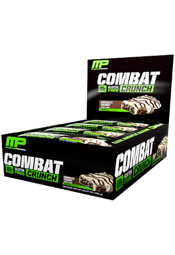 MusclePharm Combat Crunch Bar - Chocolate Coconut