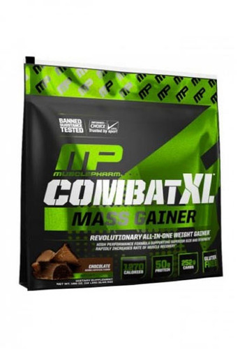 Musclepharm Combat XL Mass Weight Gainer - Chocolate, 12 Lbs