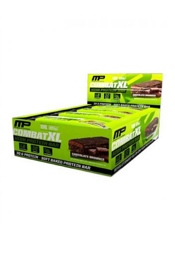 Musclepharm Combat XL Bar - Chocolate Brownie (Pack Of 12 Bars)