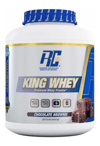 Ronnie Coleman King Whey Protein Powder - Chocolate Brownie,  5 Lbs