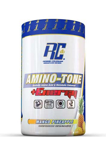 Ronnie Coleman Amino Tone Energy - Mango Pineapple, 30 Servings