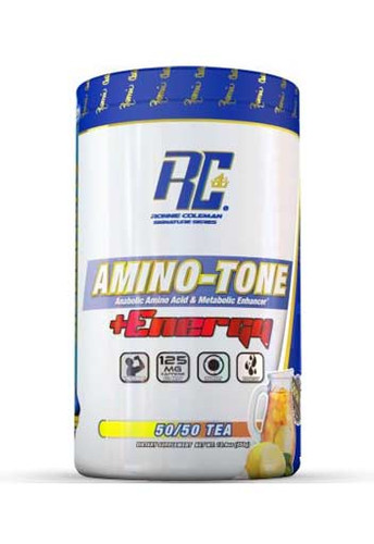 Ronnie Coleman Amino Tone Energy - 50-50 Tea, 30 Servings
