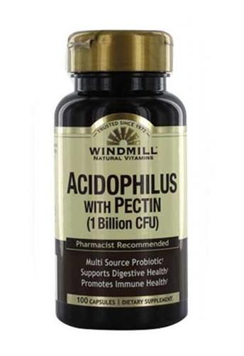 Windmill Acidophilus Probiotic Blend with Pectin 100 Capsules