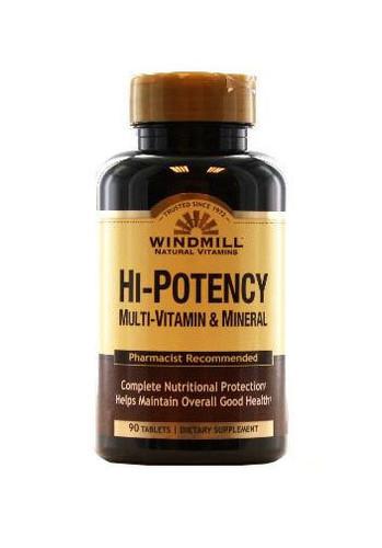 Windmill Hi Potency Multi-Vitamin & Mineral - 90 Capsules - Dubai, UAE