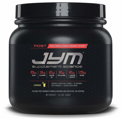 POST JYM Active Matrix Natural Lemon Lime Front