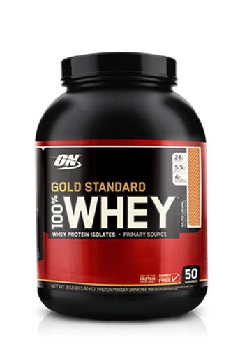 100% Whey Gold STD 5Lb Vanilla Ice Cream