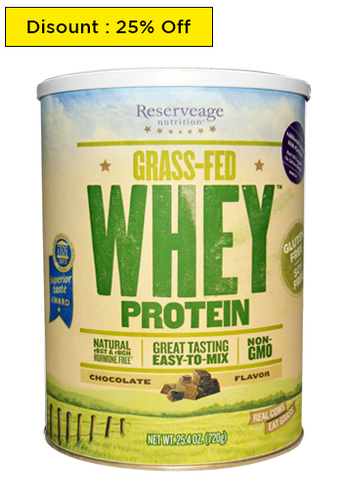 ReserveAge Nutrition, Grass-Fed Whey Chocolate