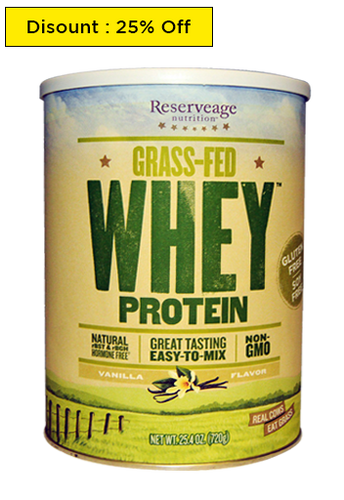 ReserveAge Nutrition, Grass-Fed Whey Protein Vanilla