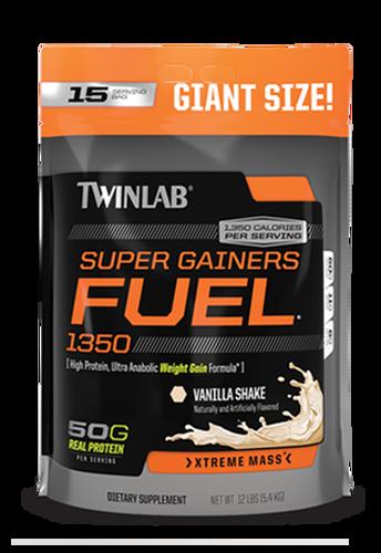 Twinlab Super Gainer Fuel 12Lb Bag Vanilla