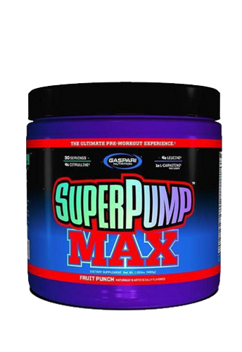 SuperPump Max Fruit Punch 480g