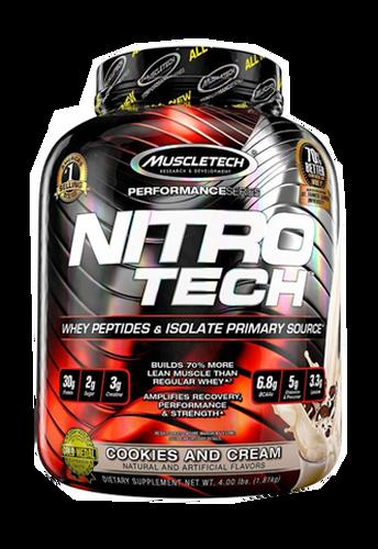 Nitro Tech Performance 4LB Cookies & Cream