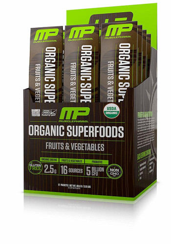 Muscle Pharm Organic Superfoods 12 packets